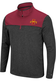 Iowa State Cyclones Colosseum Rangers 1/4 Zip Pullover - Black