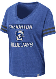 Creighton Bluejays Womens Colosseum Savona T-Shirt - Blue