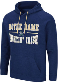 Notre Dame Fighting Irish Colosseum Parks Hooded Sweatshirt - Navy Blue