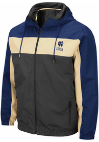 Notre Dame Fighting Irish Colosseum Brockman Light Weight Jacket - Charcoal