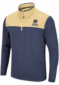 Notre Dame Fighting Irish Colosseum Rangers 1/4 Zip Pullover - Navy Blue