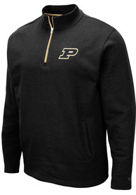 Purdue Boilermakers Colosseum Comic 1/4 Zip Pullover - Black