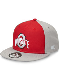 Ohio State Buckeyes Colosseum 2T Flat Bill Snapback - Red
