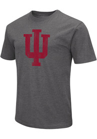 Indiana Hoosiers Colosseum Playbook T Shirt - Charcoal