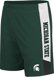 Colosseum Michigan State Spartans Mens Green Wonkavision Shorts