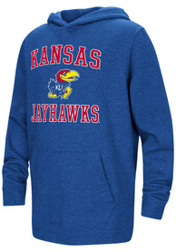 Kansas Jayhawks Youth Colosseum #1 Design Hooded Sweatshirt - Blue