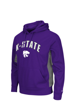 Colosseum K-State Wildcats Mens Training Day Hood