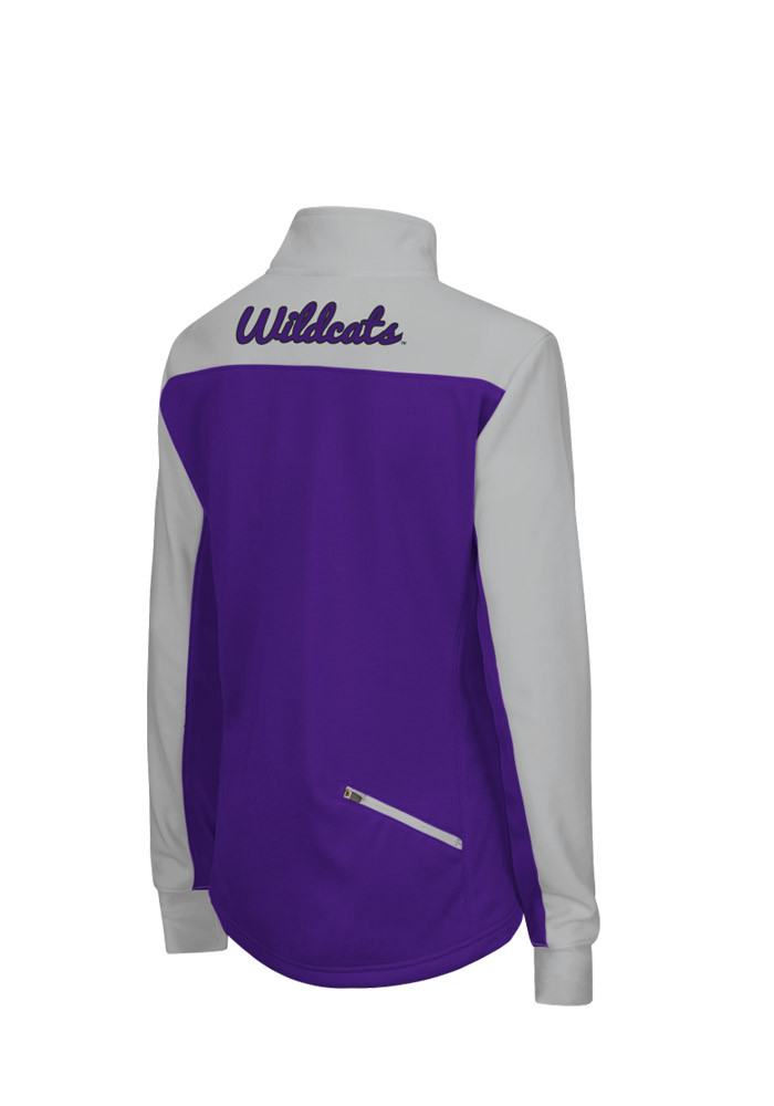 Colosseum K-State Wildcats Womens Purple Joust 1/4 Zip Pullover - Image 2
