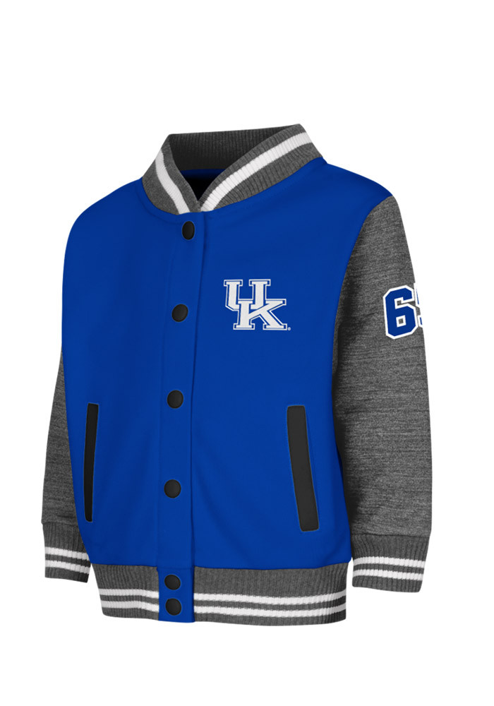 Colosseum Kentucky Wildcats Toddler Blue Toddler Sophomore Outerwear Light Weight Jacket - Image 1