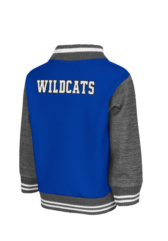 Colosseum Kentucky Wildcats Toddler Blue Toddler Sophomore Outerwear Light Weight Jacket - Image 2