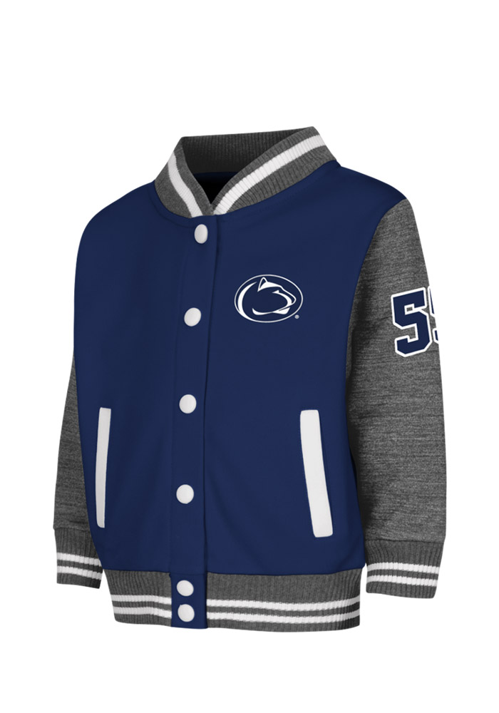 Penn State Nittany Lions Toddler Navy Toddler Sophomore Outerwear Light Weight Jacket - Image 1