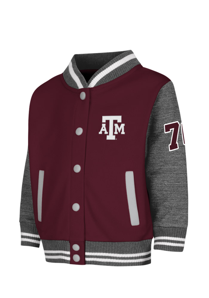 Colosseum Texas A&M Aggies Toddler Maroon Toddler Sophomore Outerwear Light Weight Jacket - Image 1