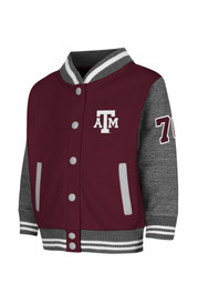 Colosseum Texas A&M Aggies Toddler Maroon Toddler Sophomore Outerwear Light Weight Jacket