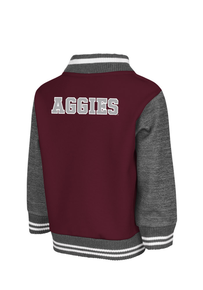 Colosseum Texas A&M Aggies Toddler Maroon Toddler Sophomore Outerwear Light Weight Jacket - Image 2