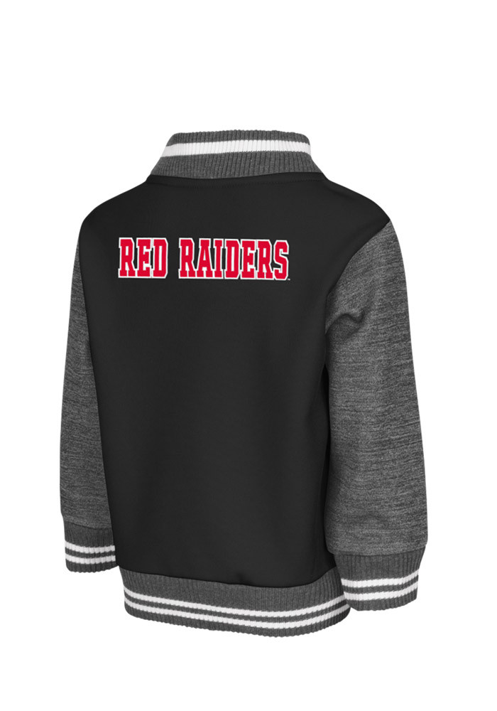 Texas Tech Red Raiders Toddler Black Toddler Sophomore Outerwear Light Weight Jacket - Image 2