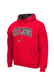 Colosseum UCM Mens Red Zone Hoodie