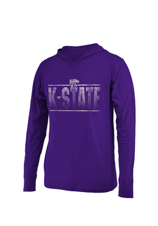 Colosseum K-State Wildcats Mens Purple Luge Tee