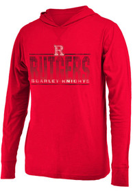 Colosseum Rutgers Scarlet Knights Red Luge Tee
