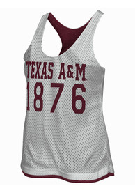 Texas A&M Juniors Maroon Triple Crown Tank Top