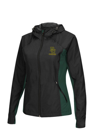 Colosseum Baylor Bears Womens Step Out Black Medium Weight Jacket
