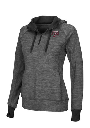 Colosseum Texas A&M Womens Double Back Maroon 1/4 Zip Performance Pullover