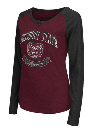 Colosseum Missouri State Bears Womens Healy Scoop Neck Tee
