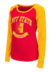 Colosseum Pitt State Gorillas Womens Healy Scoop Neck Tee