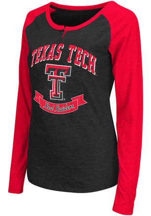 Colosseum Texas Tech Red Raiders Womens Healy Scoop Neck Tee