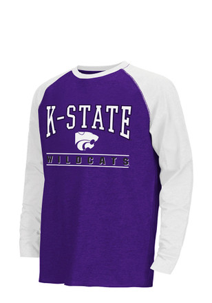 Colosseum K-State Wildcats Kids Purple kryton T-Shirt