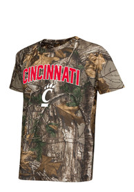 Colosseum Cincinnati Bearcats Youth Green Buckshot T-Shirt