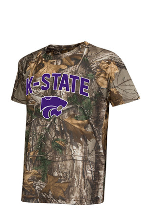 Colosseum K-State Wildcats Kids Green Buckshot T-Shirt