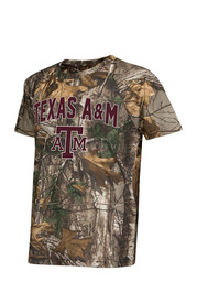 Colosseum Texas A&M Youth Green Buckshot Performance T-Shirt