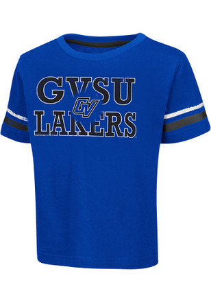 Grand Valley State Lakers Toddler Blue Touch Down T-Shirt