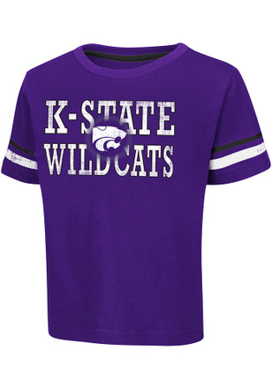 Colosseum K-State Wildcats Toddler Purple Touch Down T-Shirt