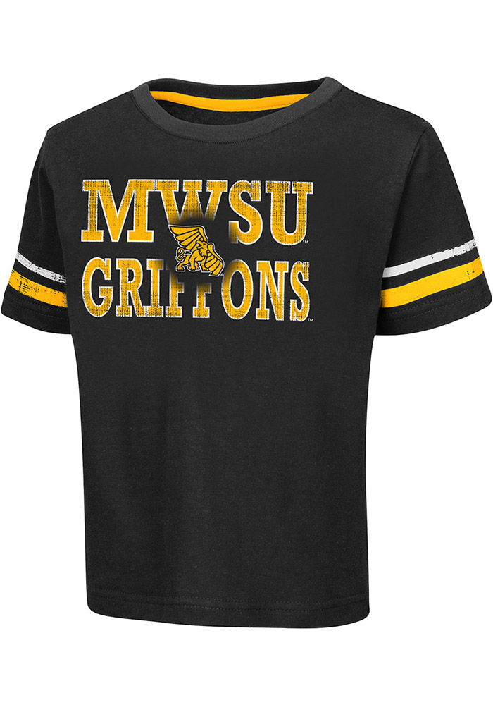 Colosseum Missouri Western Griffons Toddler Black Touch Down Short Sleeve T-Shirt - Image 1