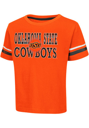 Colosseum Oklahoma State Cowboys Toddler Orange Touch Down T-Shirt