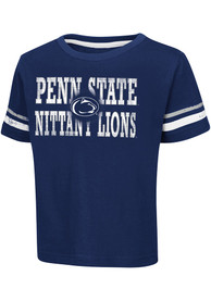 Colosseum Penn State Nittany Lions Toddler Navy Blue Touch Down T-Shirt