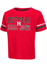 Rutgers Scarlet Knights Toddler Red Touch Down T-Shirt