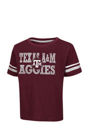 Colosseum Texas A&M Toddler Maroon Touch Down T-Shirt