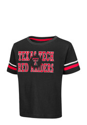 Colosseum Texas Tech Toddler Red Touch Down T-Shirt