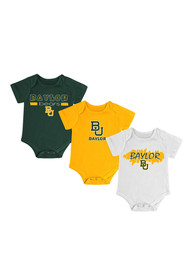 Baylor Bears Baby Green Triple Play One Piece