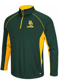 Colosseum Baylor Bears Airstream 1/4 Zip Pullover - Green