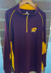 Central Michigan Chippewas Colosseum Airstream 1/4 Zip Pullover - Maroon