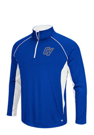 Grand Valley State Lakers Colosseum Airstream 1/4 Zip Pullover - Blue