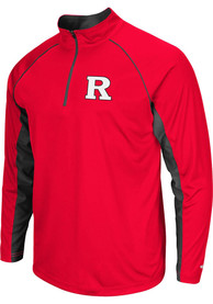 Rutgers Scarlet Knights Colosseum Airstream 1/4 Zip Pullover - Red