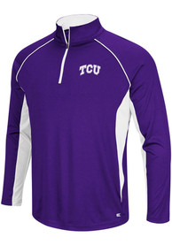 TCU Horned Frogs Colosseum Airstream 1/4 Zip Pullover - Purple