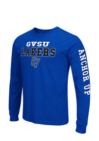 Colosseum Grand Valley State Lakers Blue Game Changer Long Sleeve T-Shirt