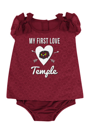 Colosseum Temple Owls Baby Cardinal My First Love Creeper