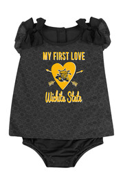 Colosseum Wichita State Shockers Baby Gold My First Love Creeper