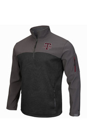 Colosseum Texas A&M Mens Maroon Plow IV 1/4 Zip Performance Pullover